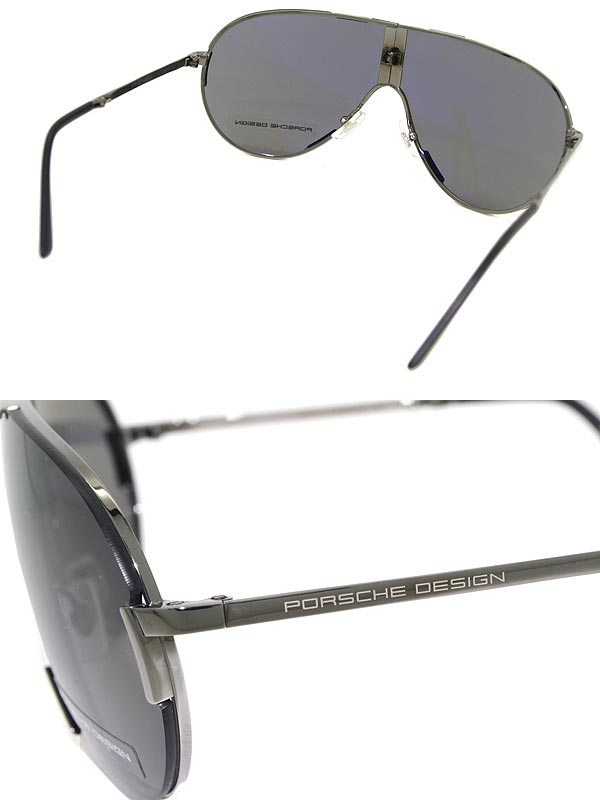 1dd7ae920cb Sunglasses PORSCHE DESIGN folding black Porsche Design P8486-000C  branded mens  amp  ladies   men for  amp  woman sex for and ultraviolet UV  kathrens ...