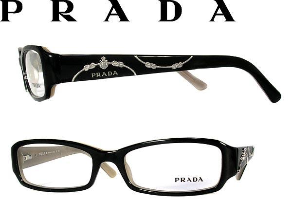 9554442bc4529 Eyewear frame PRADA Prada eyeglasses glasses black x silver x beige  0PR-15LV-7OB1O1 branded mens  amp  ladies   men for  amp  woman of for and  degrees with ...