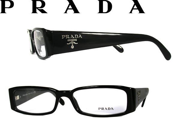 b5a4b43d5aa Glasses PRADA Prada glasses frames glasses black x branded mens   ladies    men 0PR-22MV-1AB1O1 silver for   woman sex for and once with ITA reading  glasses ...