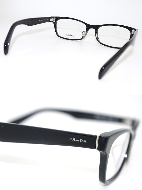woodnet   Rakuten Global Market: PRADA glasses black square-Prada ...