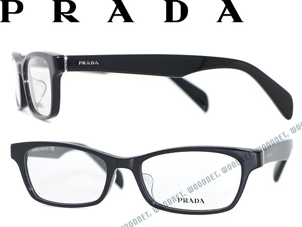 93509d0de2 PRADA glasses black square-Prada glasses frames glasses PR-17QV-1AB1O1  WN0054 branded mens  amp  ladies   men for  amp  woman sex for and once  with ITA ...