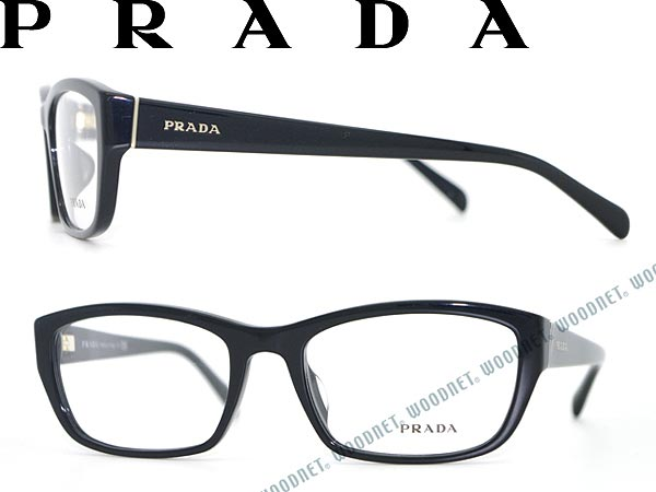 d94d9b32fc32 PRADA glasses black Prada glasses frames glasses PR-18OVA-1AB1O1 WN0054  branded mens   ladies   men   for women for   grade of eyeglass lens  interchangeable ...
