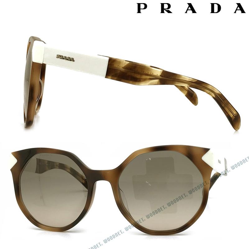 PRADA サングラス UVカット プラダ メンズ&レディース グラデーションブラック PR11TSF-USG3DO ブランド