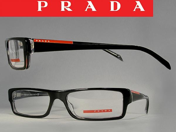 bc5c21c8c3 ... inexpensive prada linea rossa eyewear frame prada linea rossa  eyeglasses glasses black times klia skelton spring ...