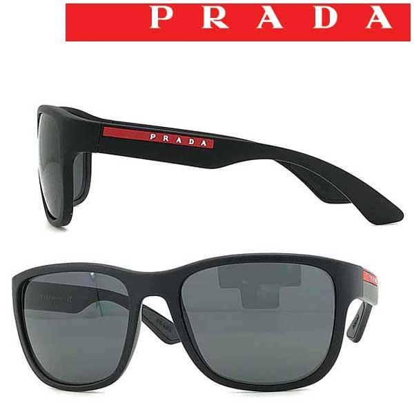 PRADA LINEA ROSSA サングラス メンズ&レディース プラダリネアロッサ ブラック 0PS-01US-DGO5SO ブランド
