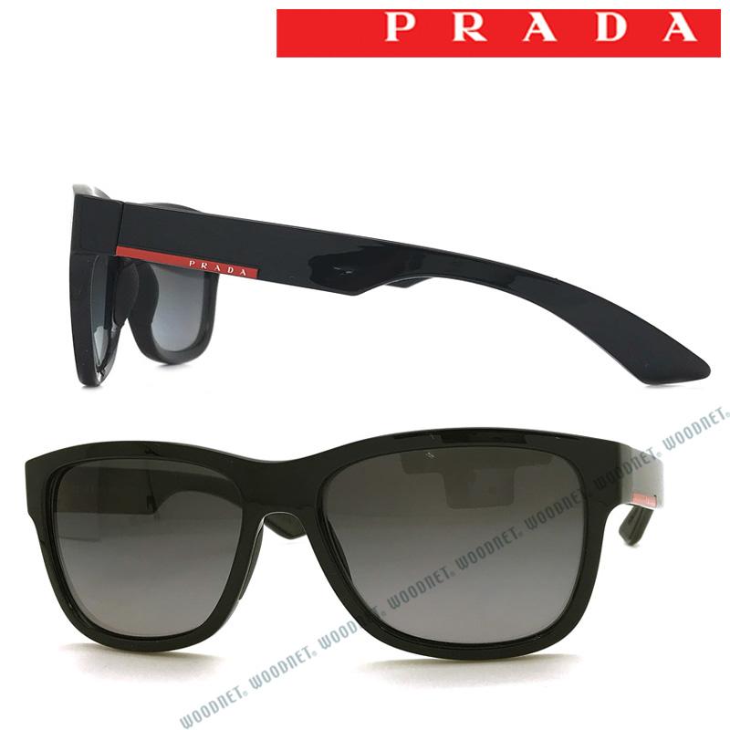 【人気モデル】PRADA LINEA ROSSA サングラス UVカット プラダリネアロッサ メンズ&レディース 旧PRADA SPORT(プラダスポーツ)グラデーションブラック 0PS-03QS-1AB5W1 ブランド