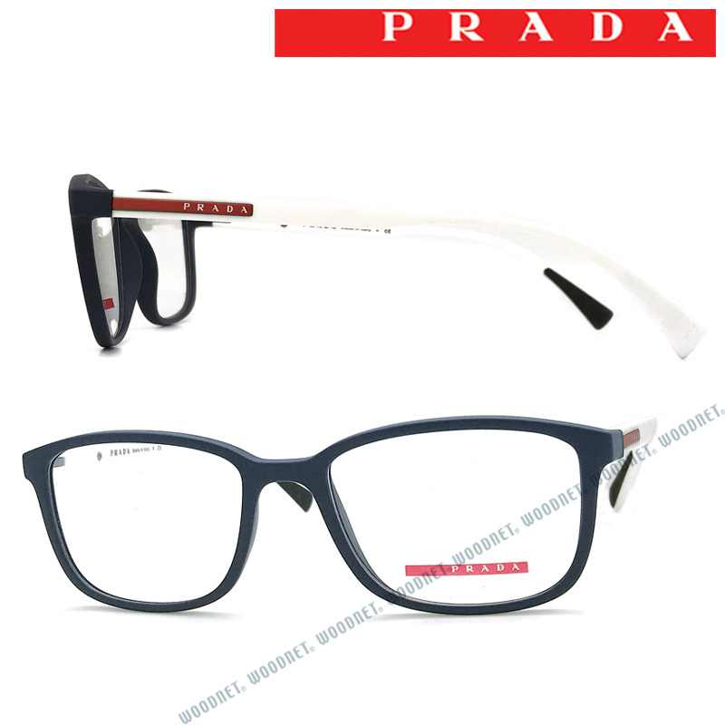 PRADA LINEA ROSSA メガネフレーム プラダリネアロッサ メンズ&レディース マットネイビー 眼鏡 0PS-04IV-2881O1 ブランド