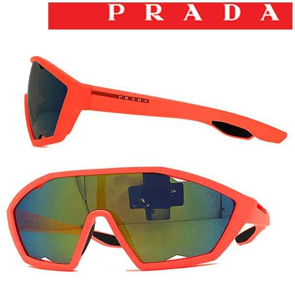 PRADA LINEA ROSSA サングラス プラダリネアロッサ メンズ&レディース イエローミラー 0PS-16US-4484J2 ブランド