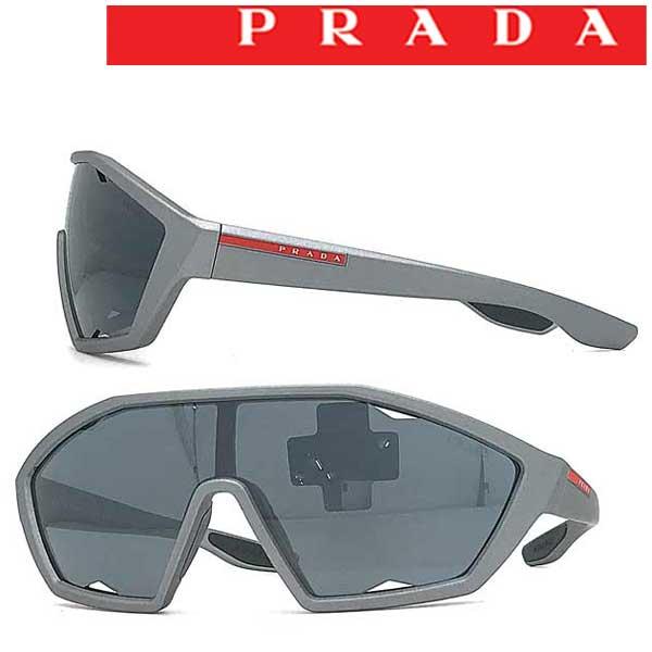 PRADA LINEA ROSSA サングラス UVカット プラダリネアロッサ メンズ&レディース シルバーミラー 0PS-16US-4495LO ブランド