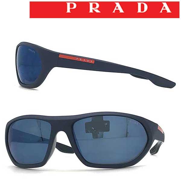 PRADA LINEA ROSSA サングラス UVカット プラダリネアロッサ メンズ&レディース ブルーミラー 0PS-18US-MA39P1 ブランド