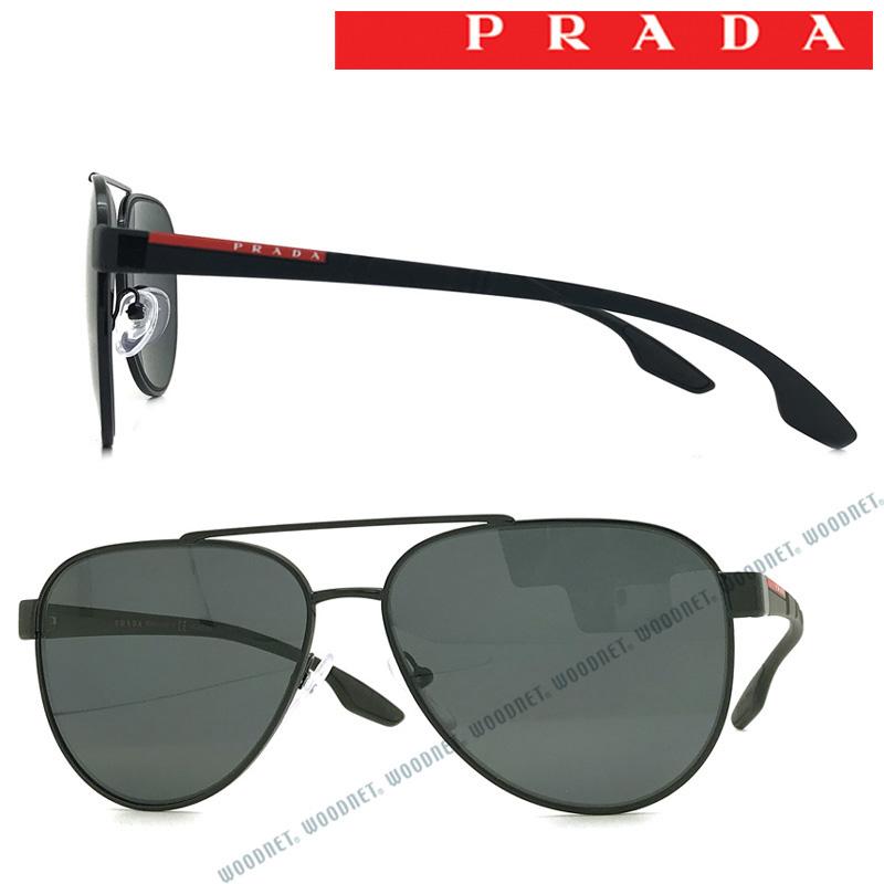 PRADA LINEA ROSSA サングラス プラダリネアロッサ メンズ&レディース ブラック 0PS-54TS-1AB5Z1 ブランド