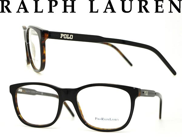 68830b80ad Ralph Lauren glasses black × tortoiseshell Brown POLO Polo RALPH LAUREN  eyeglass frames eyeglasses 0PH-2077-5260 branded mens   ladies   men for    woman sex ...