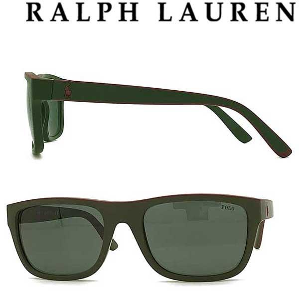 RALPH LAUREN サングラス ラルフローレン メンズ&レディース グリーンブラック 0PH-4145-575471 ブランド