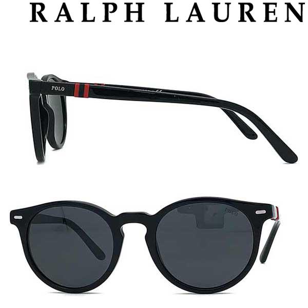RALPH LAUREN サングラス ラルフローレン メンズ&レディース UVカット ブラック 0PH-4151-500187 ブランド