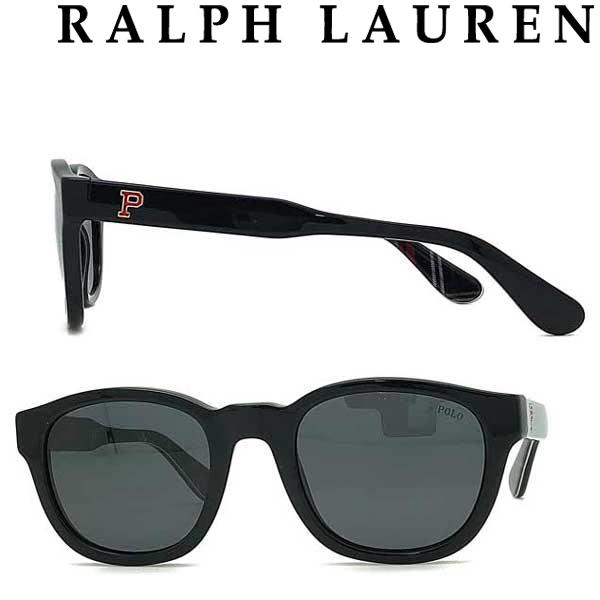 RALPH LAUREN サングラス ラルフローレン メンズ&レディース UVカット ブラック 0PH-4159-500187 ブランド