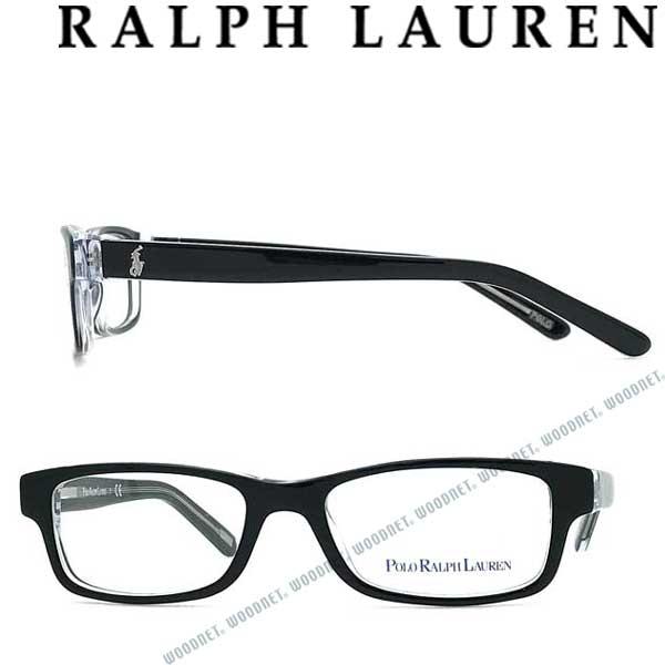 RALPH LAUREN メガネフレーム ラルフローレン メンズ&レディース 【子供用】ブラック×クリア 眼鏡 KIDS 0PP-8518-541 ブランド