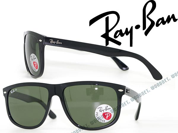 レイバン サングラス RayBan ブラック 偏光レンズ ウェリントン型 0RB-4147-601-58 ブランド/メンズ&レディース/男性用&女性用/紫外線UVカットレンズ/ドライブ/釣り/アウトドア/おしゃれ