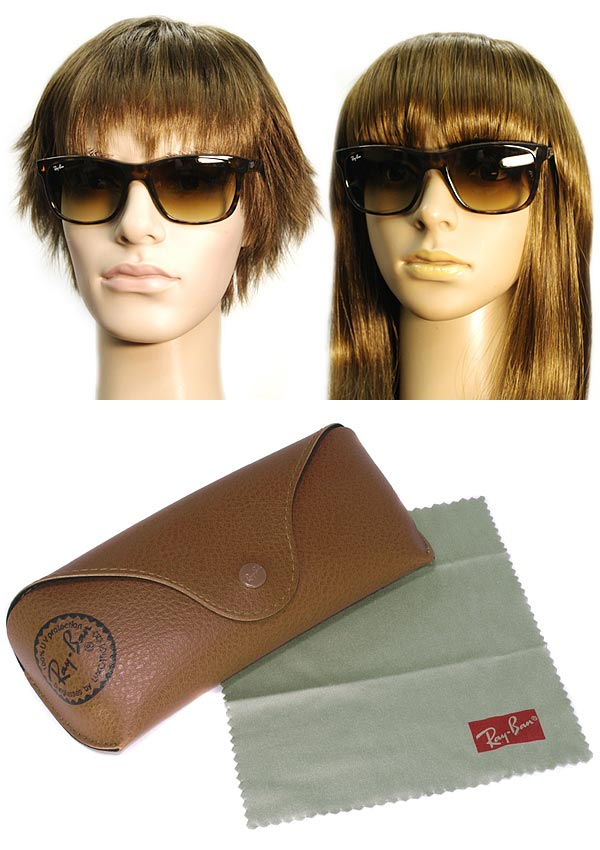 24319bc6cf ... inexpensive branded mens ladies men rayban 0rb 4181 710 51 gradation  brown ray ban sunglasses for