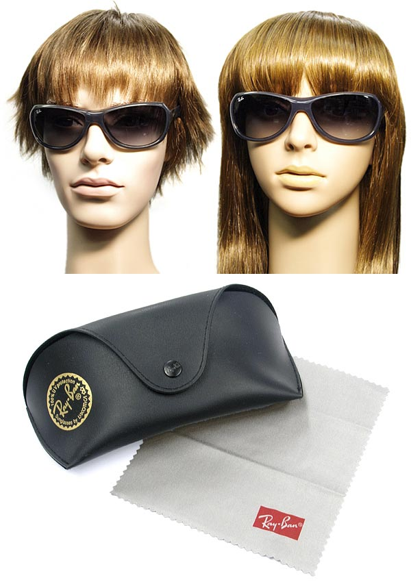 9a52b5805a4 ... shop rayban sunglasses gradient black ray ban 0rb 4189 6006 8g branded  mens ladies men for