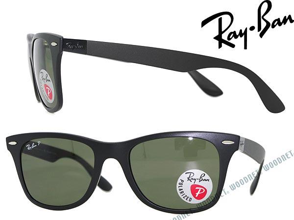 RayBan sunglasses black polarized lenses Wellington-Ray Ban 0RB-4195-601S-9A  ... 932d55e4448e