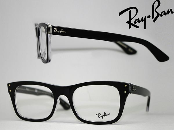 73246c78a407 Glasses frame RayBan black x クリアスケルトン Ray Ban eyeglasses glasses  0RX-5227-2034 □ □ price □ □ WN0045 branded mens   ladies   men for   woman  sex ...
