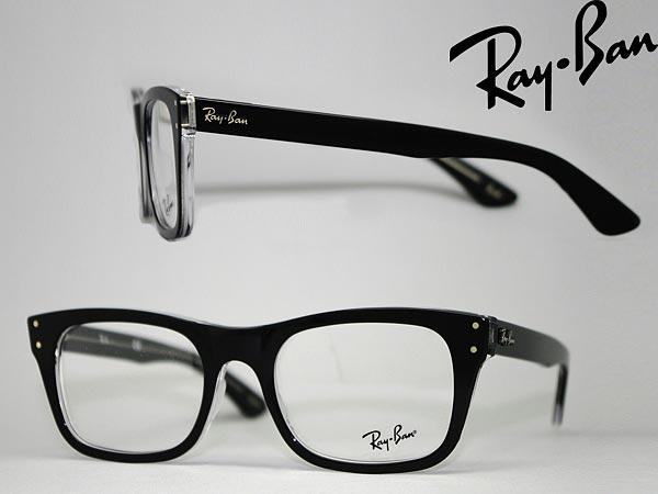 cb4e710a9d Glasses frame RayBan black x クリアスケルトン Ray Ban eyeglasses glasses  0RX-5227-2034 □ □ price □ □ WN0045 branded mens   ladies   men for   woman  sex ...