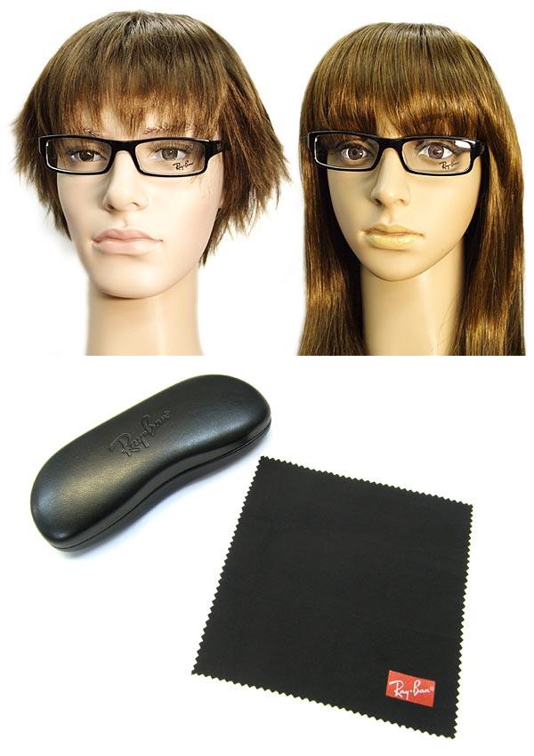 e4fddcc58d RayBan Ray-Ban glasses frame glasses men   Lady s black X clear square  model 0RX-5246-2034
