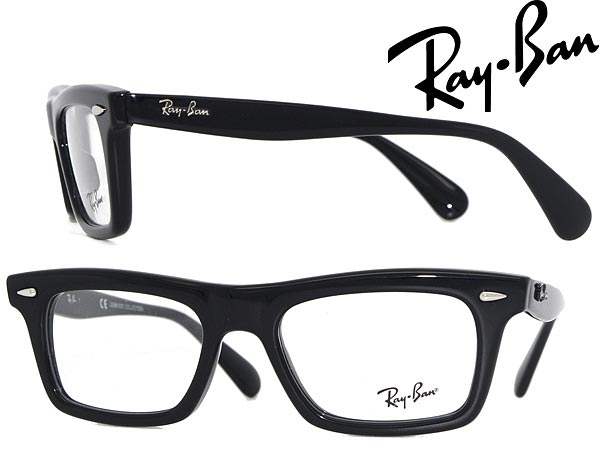 787fcca9ace2 Ray Ban eyeglass frame black RayBan eyeglasses glasses 0RX-5278-2000 WN  0037 branded ...