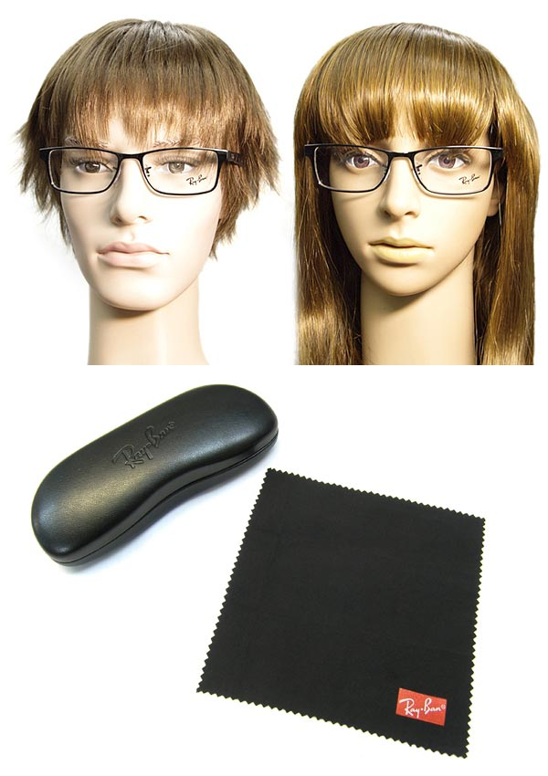 9861ee62d25 Glasses frame RayBan black Ray Ban eyeglasses glasses 0RX-6238-2509  branded mens  amp  ladies   men for  amp  woman sex for and once with ITA  reading ...