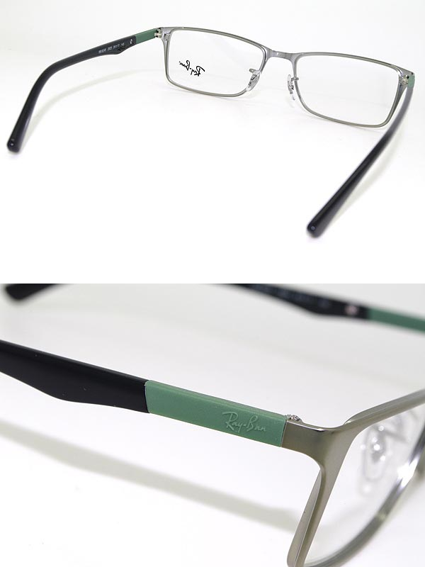 Ray Ban Lens Replacement >> woodnet: Glasses RayBan silver Ray Ban eyeglass frames glasses 0RX-6248-2620 branded/mens ...