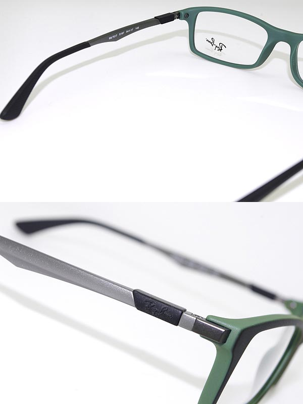 6301d4a02f Glasses frame Ray Ban matte black x matte green RayBan eyeglasses glasses  0RX-7017-5197 branded mens  amp  ladies   men for  amp  woman sex for and  advanced ...