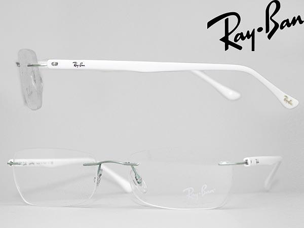58e0e6dbba Glasses Ray-Ban rim protection   HCI no light blue silver × white-type RayBan  glasses frames glasses 0RX-8693-1135 branded mens  amp  ladies   men for   amp  ...