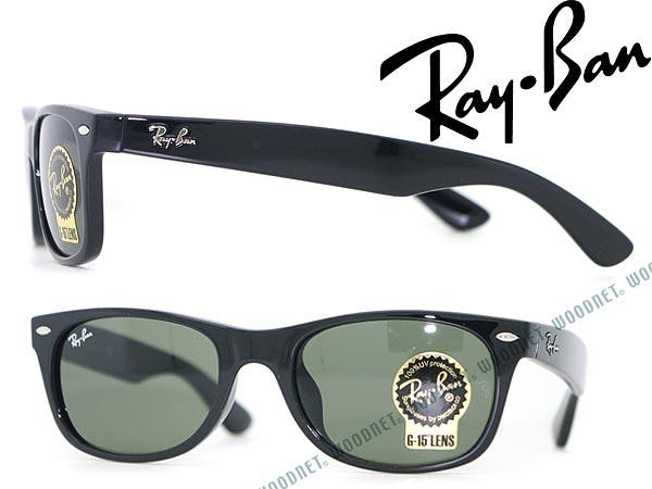 a1409abc3a Ray-Ban sunglasses NEW WAYFARER black green Wellington-RayBan RB-2132F-901  ...