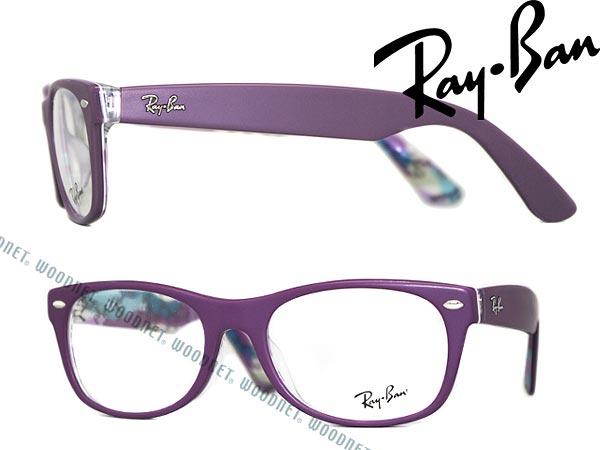 28c39cebc89 Ray Ban glasses WAYFARER matte purple Wellington-RayBan glasses frames  glasses Rx-5184F-5408 WN0054 branded mens  amp  ladies   men for  amp  woman  sex for ...