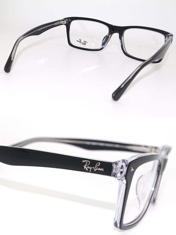 woodnet | Rakuten Global Market: Glasses frame RayBan black x clear ...