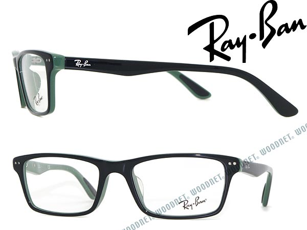 54a627056fd8 ... correspondence / lens exchange for Date, convex glasses, color PCs with  the / degree for & women for RayBan glasses frame black X green square  type ...