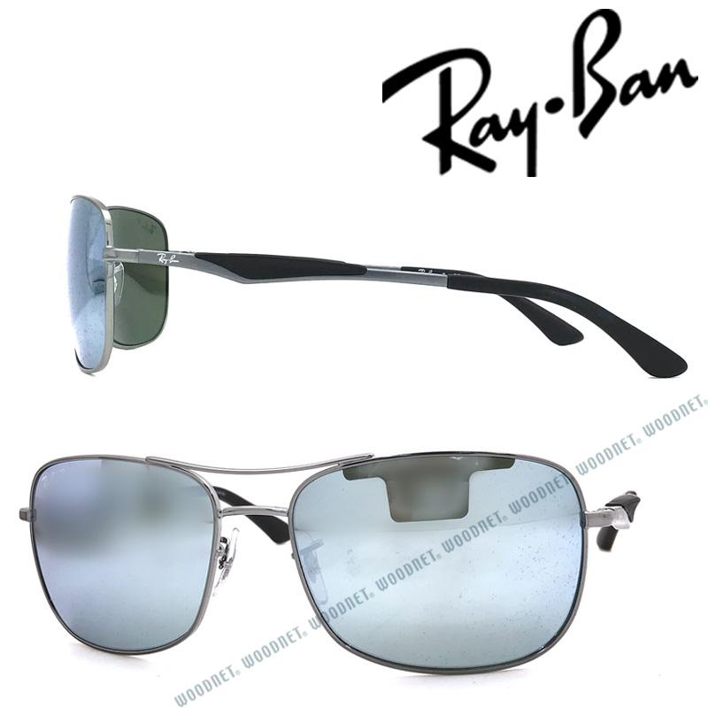 RAYBAN サングラス レイバン メンズ&レディース シルバーミラー 0RB-3515-004-Y4 ブランド