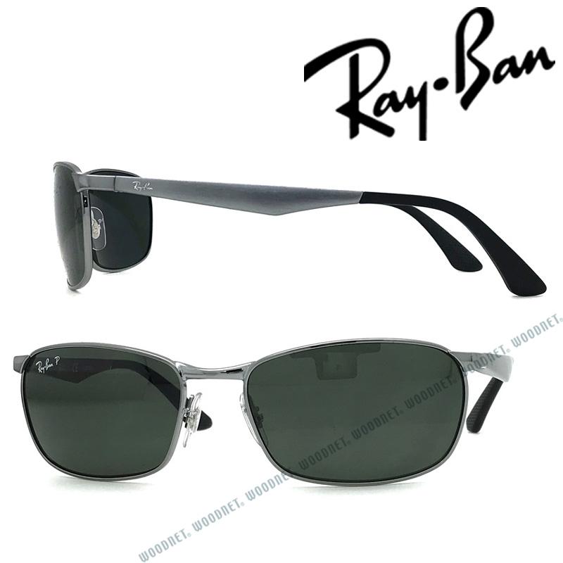 RAYBAN サングラス レイバン メンズ&レディース グリーンブラック ≪偏光レンズ≫ 0RB-3534-004-58 ブランド