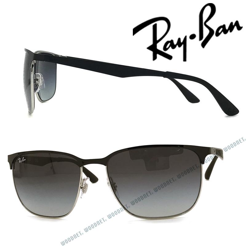 RAYBAN サングラス UVカット レイバン メンズ&レディース グラデーションブラック 0RB-3569-90048G ブランド