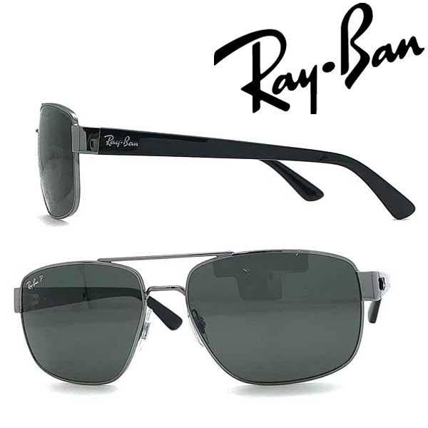 RAYBAN サングラス レイバン メンズ&レディース ブラック≪偏光レンズ≫Pola 0RB-3663-004-58 ブランド