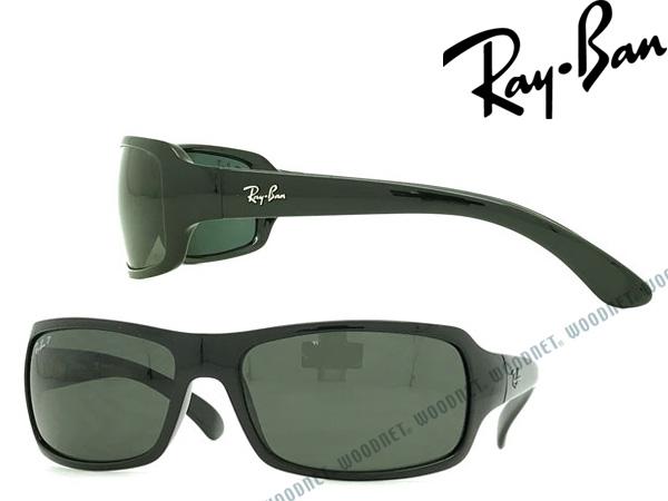 RayBan レイバン Jブラック サングラス UVカット【偏光レンズ】 0RB-4075-601-58 メンズ&レディース ブランド