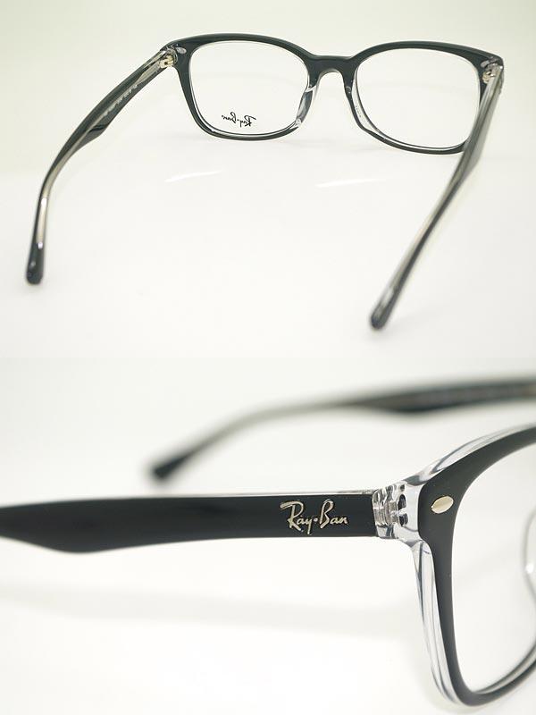 be0f29d13b61 ... uk ray ban eyeglass frame black x clear rayban eyeglasses glasses rx  5285f 2034 brands 2c0ae