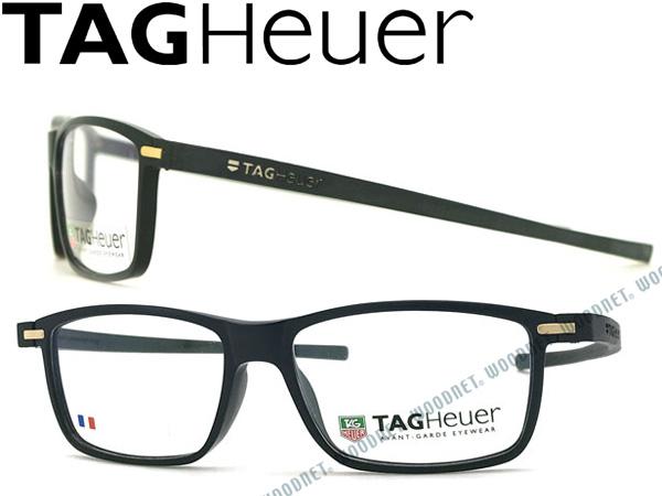 【人気モデル】TAG Heuer メガネフレーム タグホイヤー 眼鏡 マットブラック×ブラック めがね TH-3951-011 ブランド/メンズ&レディース/男性用&女性用/度付き・伊達・老眼鏡・カラー・パソコン用PCメガネレンズ交換対応