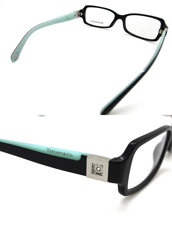 woodnet | Rakuten Global Market: Eyeglasses Tiffany & Co. Black ...