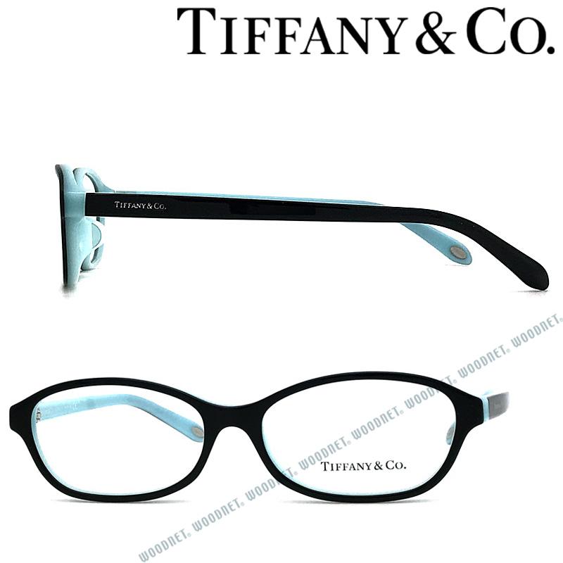 Tiffany & Co. メガネフレーム ティファニー レディース ブラック×スカイブルー TF2139D-8055 ブランド