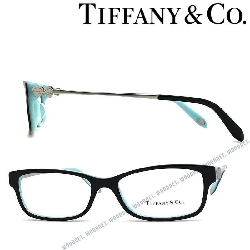 Tiffany & Co. メガネフレーム ティファニー レディース ブラック×スカイブルー TF2140F-8055 ブランド