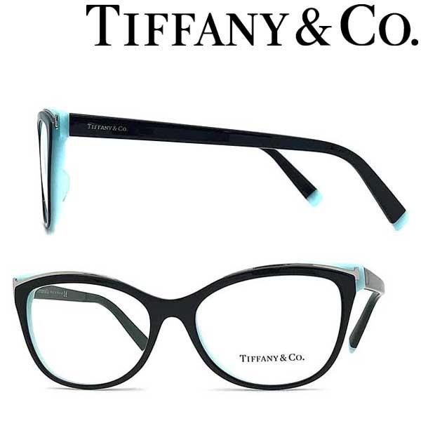 Tiffany & Co. メガネフレーム ティファニー レディース ブラック×スカイブルー TF2192F-8055 ブランド