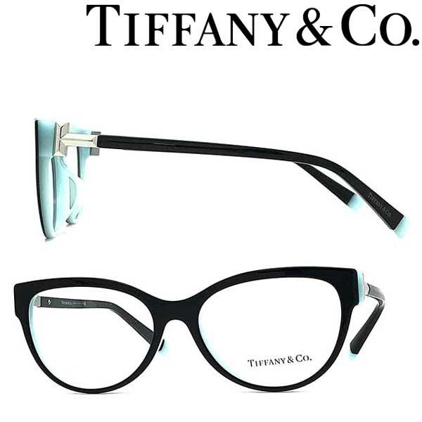 Tiffany & Co. メガネフレーム ティファニー レディース ブラック×スカイブルー TF2196F-8055 ブランド