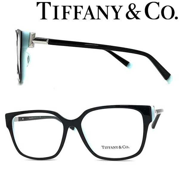 Tiffany & Co. メガネフレーム ティファニー レディース ブラック×スカイブルー TF2197F-8055 ブランド