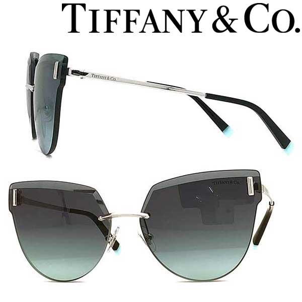 Tiffany & Co. サングラス ティファニー レディース グラデーションブルー 縁無し 2pt TF3070-60019S ブランド